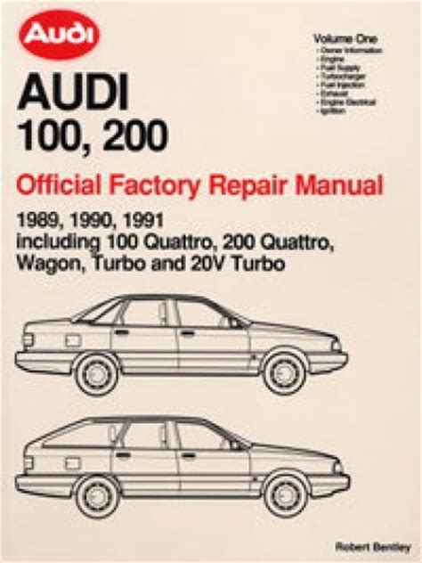manual repair autos 1989 audi 100 on board diagnostic system 1989 1990 1991 audi 100 200 repair manual
