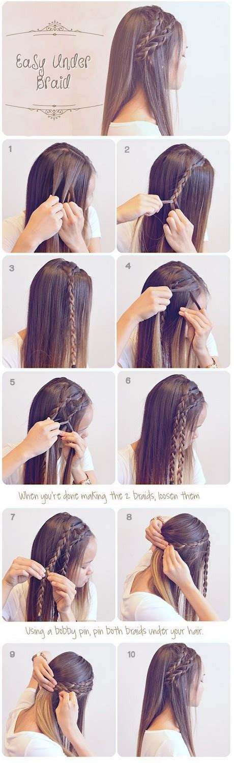 Hairstyles For Easy And Beautiful by Easy Beautiful Hairstyles