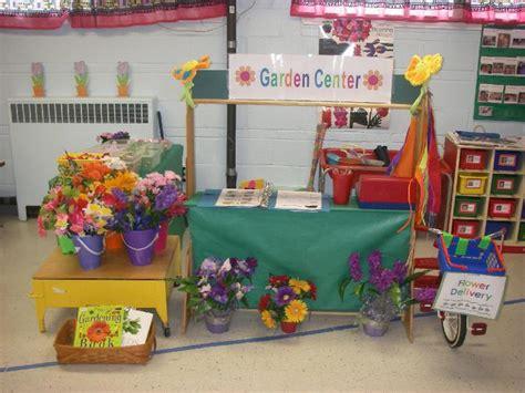 theme center themes spring garden shop pretend play center