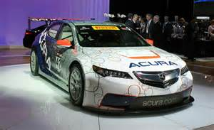 Acura Racing Cars Acura Tlx Gt Race Car Look 187 Autoguide News