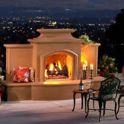 American Fireplace Company by American Fyre Designs Grand Mariposa 113 Inch Outdoor