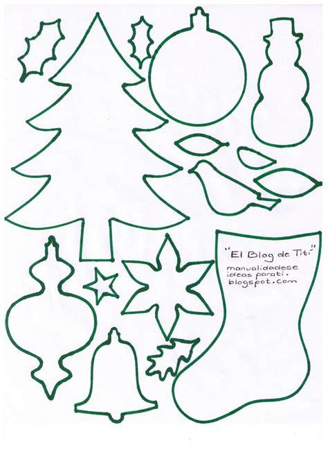 imagenes navideñas gratis para imprimir el blog de tit 237 manualidades plantillas con motivos