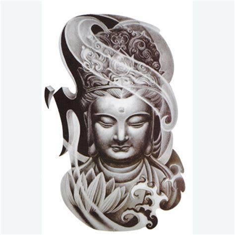 buddha face tattoo legian tattoo sticker paste bronze buddha head drawing designs