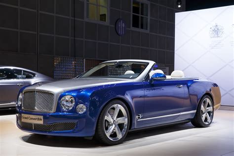 bentley convertible only 19 bentley mulsanne grand convertibles will be made