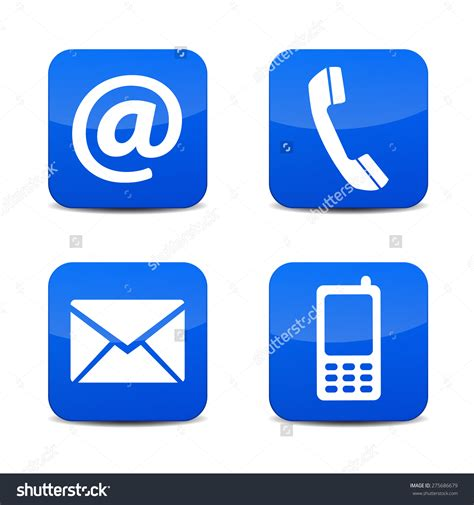 email without phone telephone icon for email free icons