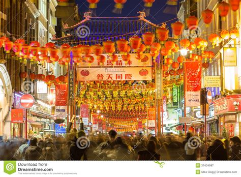 new year uk date china town in for new year editorial