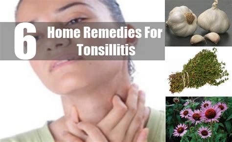 6 useful home remedies for tonsillitis how to treat