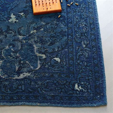 west elm blue rug remodelaholic best colors for your home navy blue