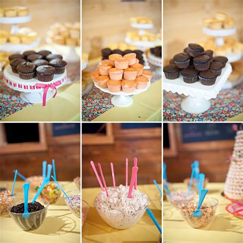 cupcake bar toppings cupcake bar build your own various cake flavors