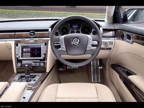 volkswagen phaeton interior phaeton interior photos