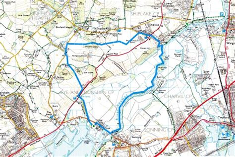 henley on thames river map sonning eye to shiplake and the river thames round