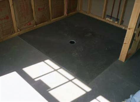 Wedi Shower Curb by Seattle Glass Block Barrier Free Ada Shower Installations