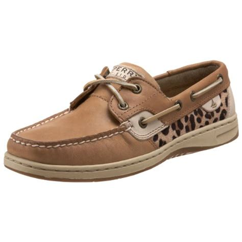 cheap sperry shoes cheap sperry bluefish 2 eye linen leopard pony 5 womens