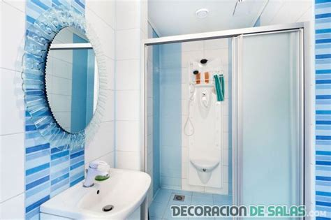 small blue bathroom ideas decorando ba 241 os en color azul