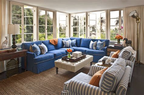 beautiful blue sectional sofa  give vary interior design