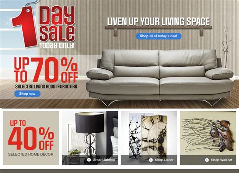 I Sofa Rooms To Go Sears Canada One Day Sale Save Up To 70 Off Selected