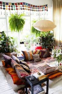 bohemian style home 57 cool ideas to decorate your place with floor pillows shelterness