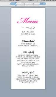 5 best images of wedding drink menu template diy wedding
