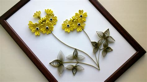 diy home decor  paper quilling art diy room decor