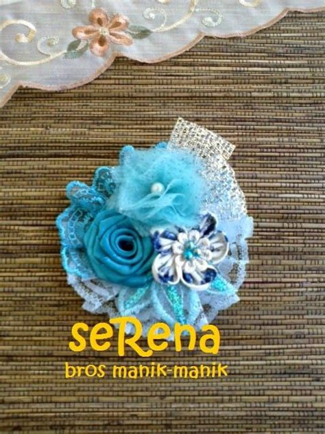 Bros Bunga Jilbab Syarii Abstract Flower Brooch 156 best images about kain fabric on fabric flower tutorial flower and fabric roses