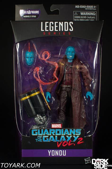 Marvel Lagend Galaxy Guardian Vol 2 Lord Yondu Angela Drax marvel legends guardians of the galaxy vol 2 yondu photo shoot the toyark news