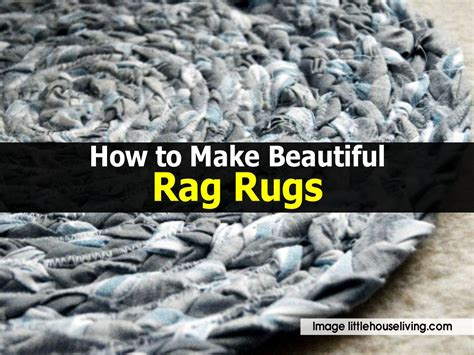 How To Make Rugs by How To Make Beautiful Rag Rugs