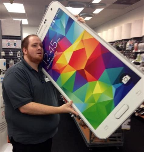 samsung releases  worlds biggest mobile phone   sale  walmart walmart faxo