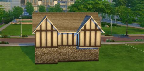 how to build a tudor house in the sims 4 sims