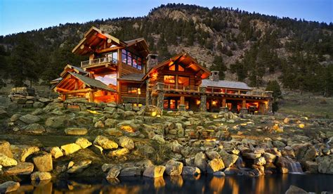 Ranch Log Home Floor Plans pioneer log homes of bc why western red cedar is ideal