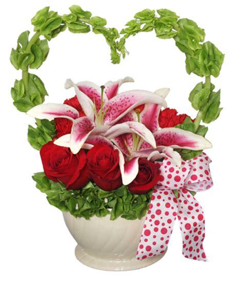 valentine s day flower arrangements from my heart valentine arrangement valentine s day