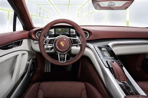 Auto Interior Colors by Space And Pace Porsche Panamera Shooting Brake Spotted By