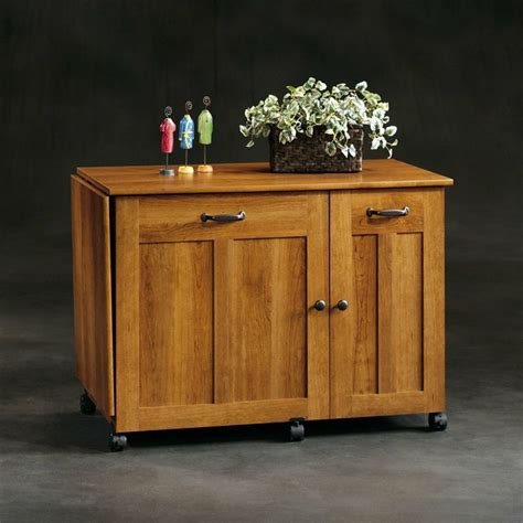 Sauder Sewing Armoire by Sauder Sewing Craft Table American Cherry Sewing