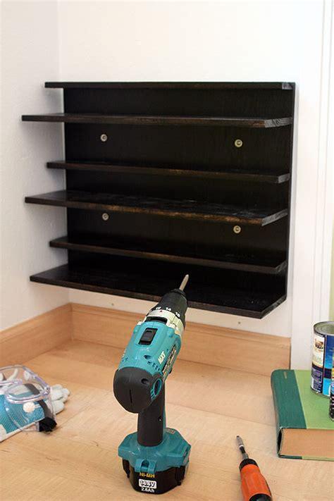 wall shoe rack diy not martha diy shoe rack for a tight space