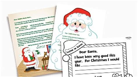 letters to santa template oriental trading christmas ideas diy christmas holiday projects