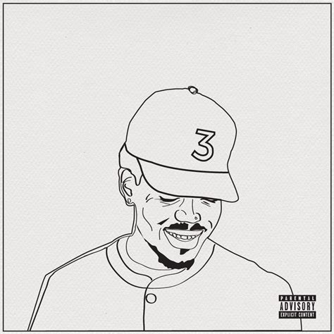coloring book album lyrics chance the rapper artfully paints canvas in coloring book