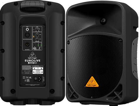 Jual Speaker Aktif Fiber jual behringer b110d b 110 d b110 speaker aktif 10 quot new sinar teknik bekasi