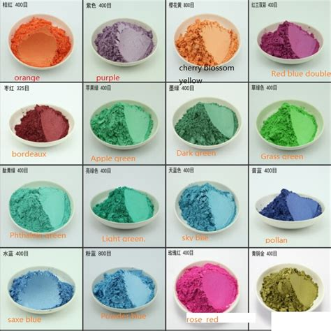 100g pearl pigment mica powder acrylic paint color pearl powder metallic paint flash powder 1lot