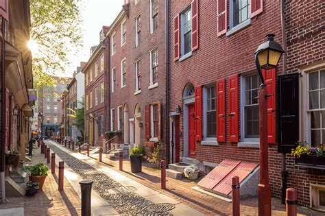 oldest street in philly the most beautiful historic neighborhoods in america