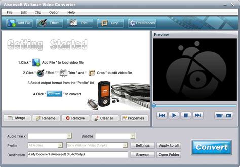 audio converter is a powerful mpeg to mp3 converter which aiseesoft walkman video converter v6 2 16 shareware