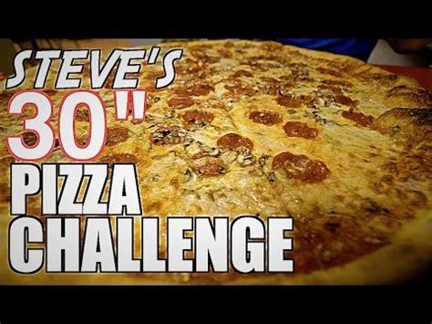 steves pizza challenge steve s 30 quot pizza challenge