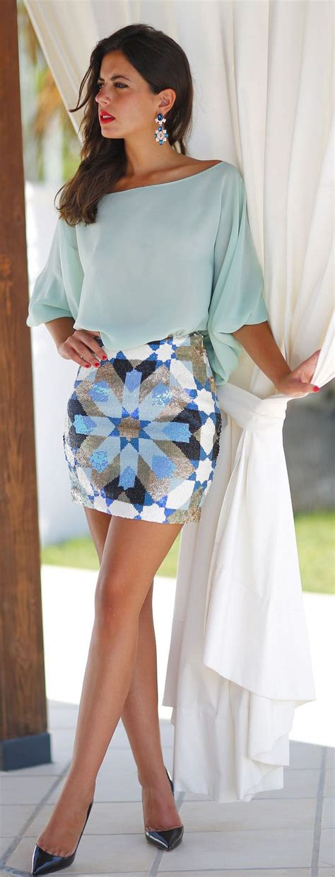 cute patterned skirts easy way to try a new pattern this summer cute geometric