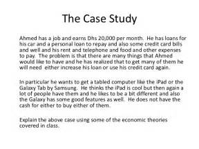 How To Write A Case Study Research Paper For My Students Example Case Study Solution P2 2011
