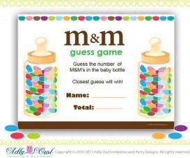 m amp m s baby shower game printable fun baby shower games