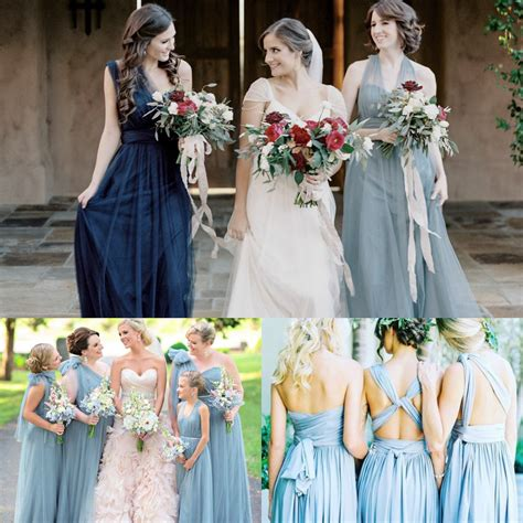 color bridesmaid dresses top trending color themes for bridesmaid dresses 2016 and 2017