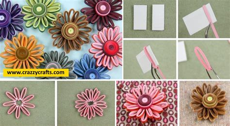 paper quilling tutorial step by step easy to make quilling flower step by step tutorial