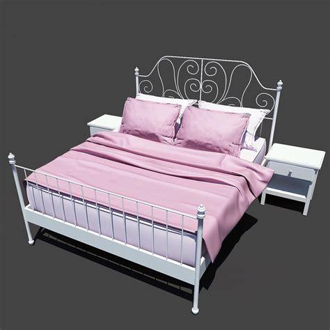 leirvik bed frame 3ds ikea leirvik bed frame
