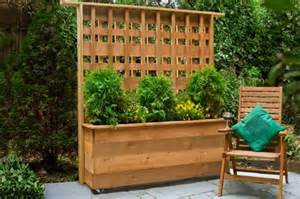 Standing Planter Box by Freestanding Trellis Ideas Perfect For Your Garden