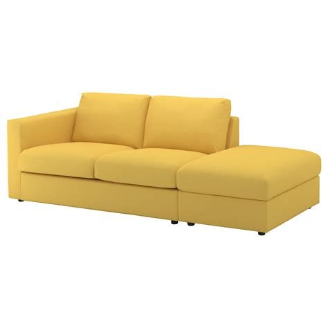 yellow loveseat furniture yellow sofa ikea rp loveseat skaftarp yellow ikea thesofa
