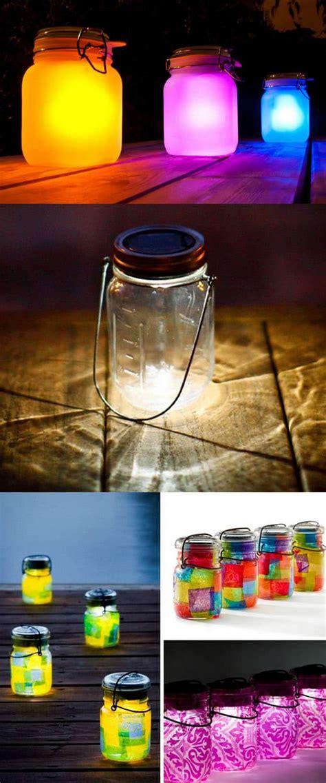 diy solar lights outdoor 28 stunning diy outdoor lighting ideas so easy a