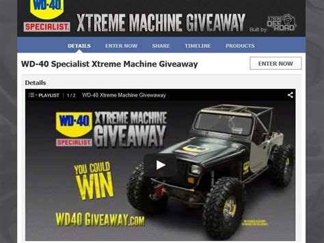 Jeep Giveaway Sweepstakes - wd 40 jeep giveaway autos post